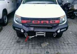 Bemper rocker bar mobil ford ranger.