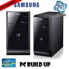 PC Rakitan Build Up SAMSUNG Core I3 ( OFFICE / ADMIN / PELAJAR )