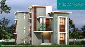 3 bhk new house, 5 cents, open well, 1300 sqft, kottooli, Thondayad