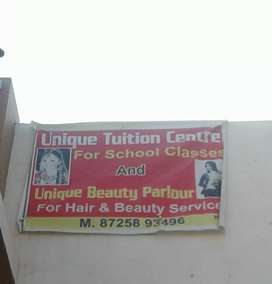 Unique beauty parlour