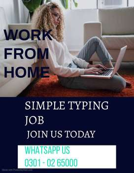 We are hiring everyone for online home base job of Simple