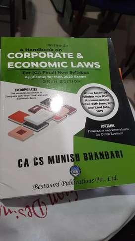 CA Final law (New syllabus )munish bhandari
