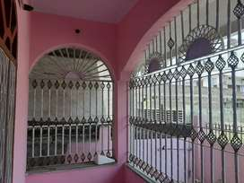 2bhk, semi furnished flat for rent