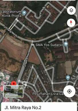 LAHAN Matang Sangat Strategis di Pinggir Jln Mitra Raya 2