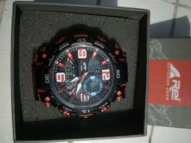Jam Tangan Reib Outdoorgear Endurus Watch Red Original