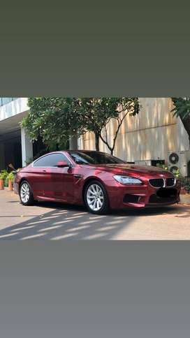 BMW 640i coupe 2014 Low km Antik Red On Brown