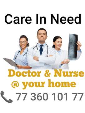 Your family nurse. Care in need.