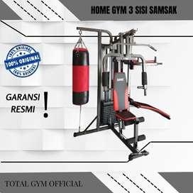 Alat olahraga Fitness HOME GYM 3 SISI SAMSAK BONUS SARUNG TINJU