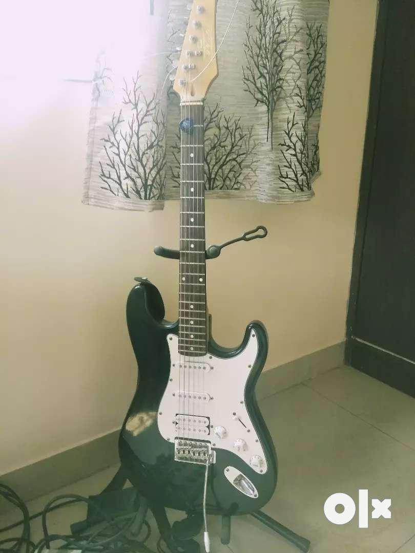 Electric guitar 0