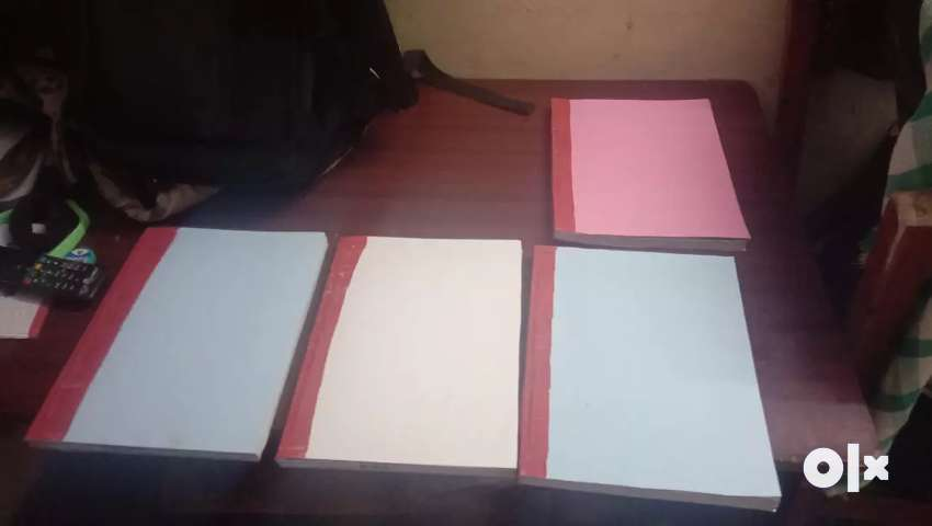 Printout and binding works for students 0
