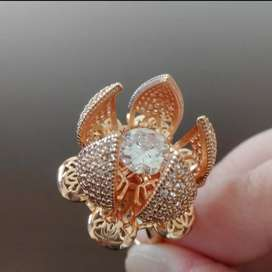 Mechanical  flower ring modern imported high Quality Ring