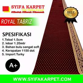 Karpet masjid premium tebal 16 mm