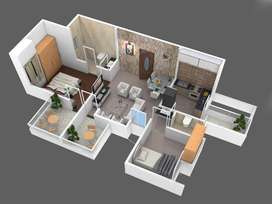 2 bhk for sale in Ashwamedh Brilliance in Ravet at 47 lacs + Gov. Tax