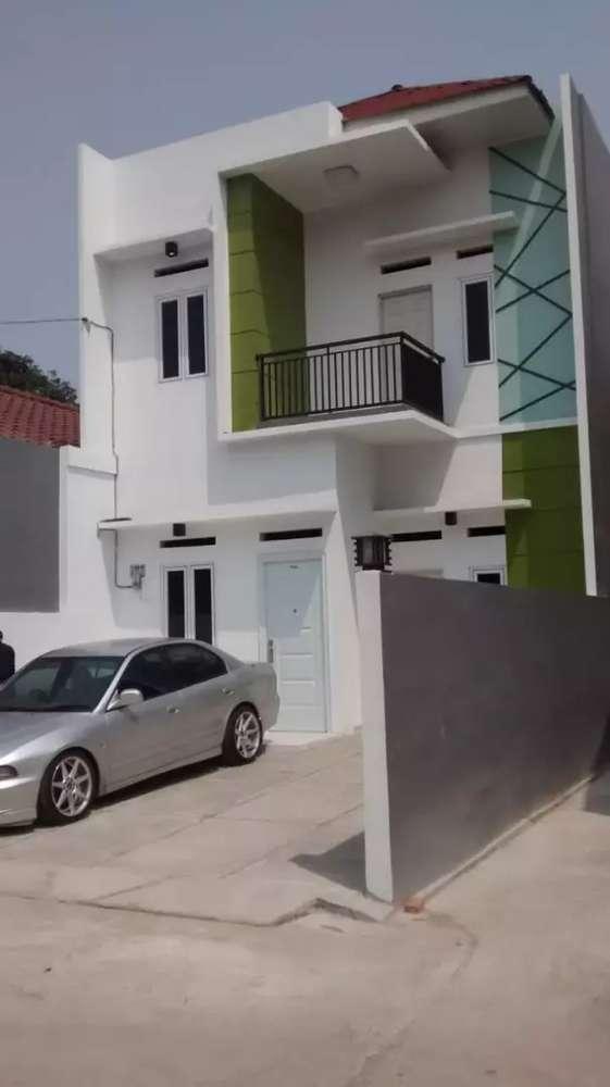 rumah minimalis modern baru siap huni jatiwaringin