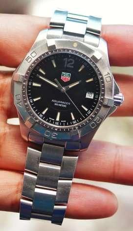 jam tangan vintage Tag Heuer Aquaracer ref model WAF1110