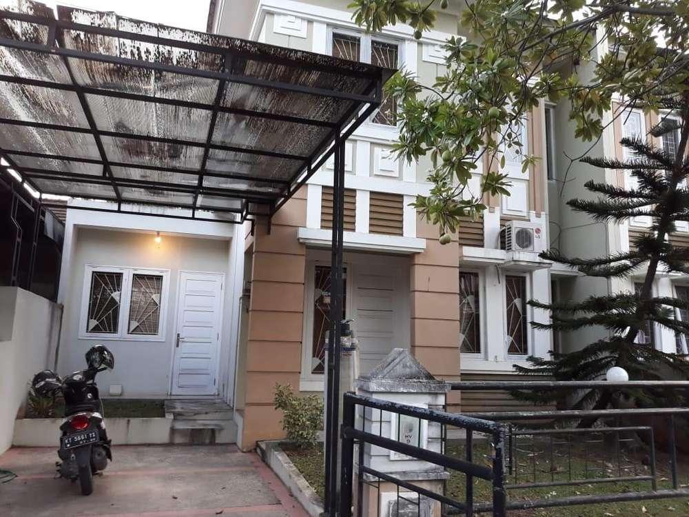 jual rumah vancouver furnished balikpapan baru dua lantai