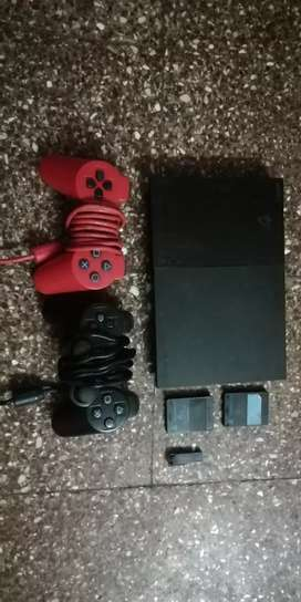 Sony Ps2  / 2 memory card / 2 remote