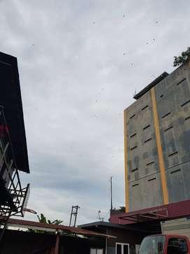 Disewakan gudang dan kantor di Jl. MT. Haryono Balikpapan