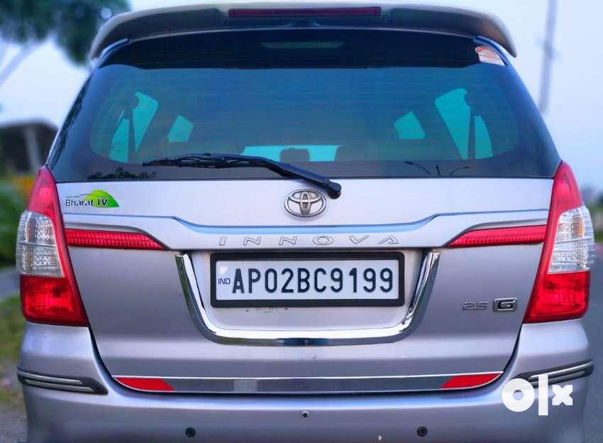 Toyota Innova 2.5 G 8 STR BS-IV, 2015, Diesel 0