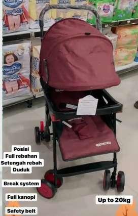 Ready stroller space baby bisa untuk bayi baru lahir sampai 20kg 475rb