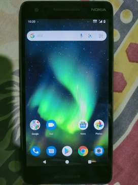 Nokia 2.1  ram 3/32 good condition with box bill