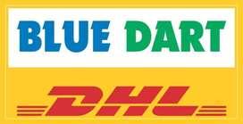 Blue dart express courier