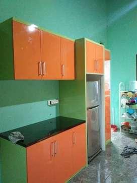 free desain kitchenset murah mini bar bagus teruji asli pabrik