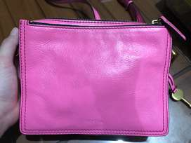 Fossil bag leather preloved