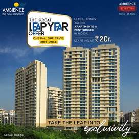 Best ever location 3 BHK Flats  for Sale  in  Sector 50, Noida, Ambien