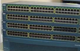 Cisco 3750g & 3560g 24port /48 port switches all gig with 4 sfp port