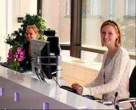 Highly paid  Receptionist/Event coordinator job for girls