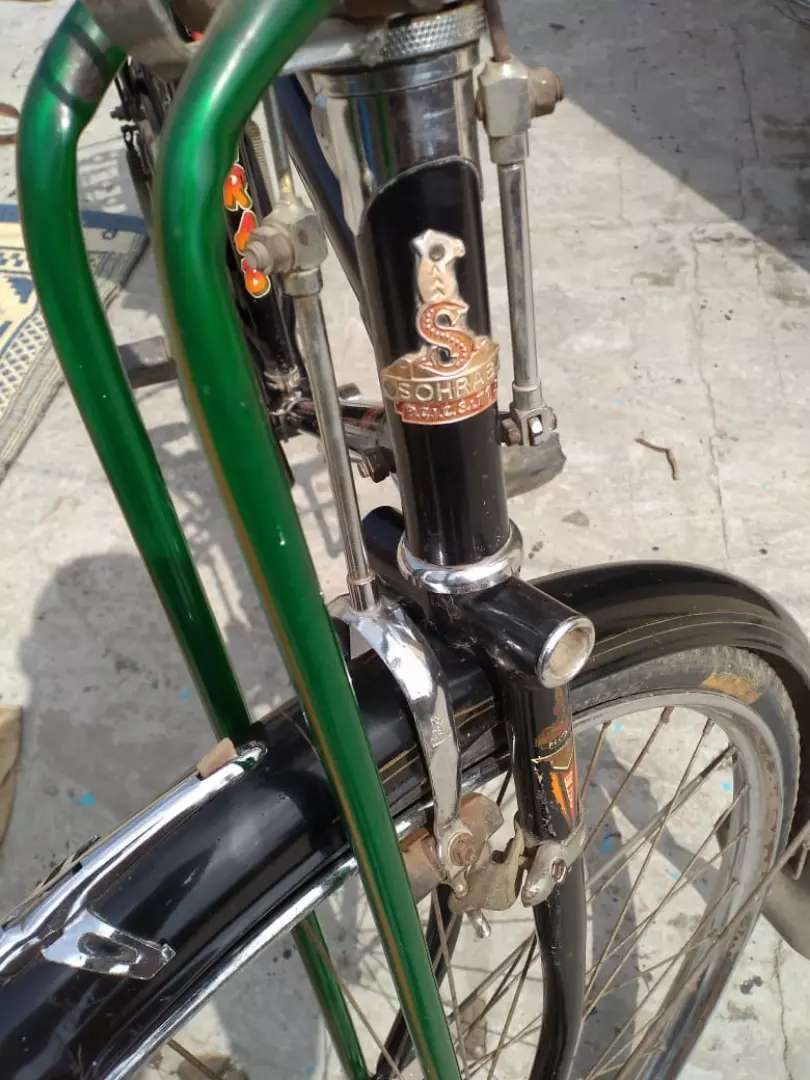 Sohrab bicycle heavy new condition 22 0