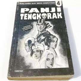 Komik Langka Panji Tengkorak 1-4 Hans Jaladara Tamat