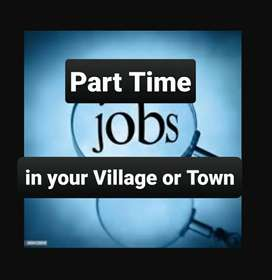 Part Time job in your own Village or Town