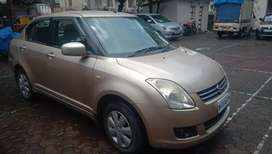 Maruti Suzuki Swift Dzire 2010 Petrol 69000 Km Driven