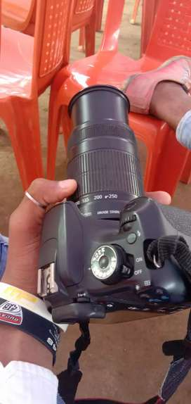 Canon 1200d camera nd both lens