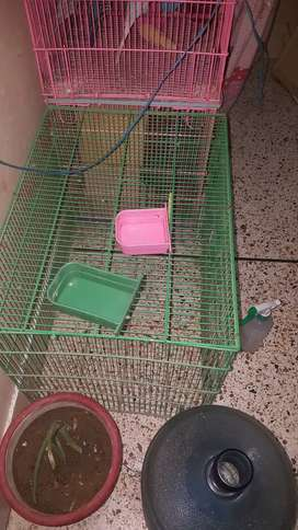 5 Cages for sale.