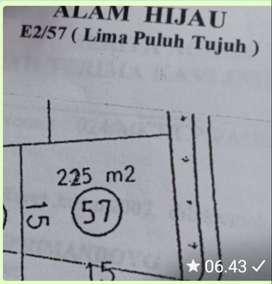 Dijual Kavling Surabaya Barat Alam Hijau E2 Citraland