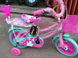 Sepedah anak size 12 atlantis ban busa