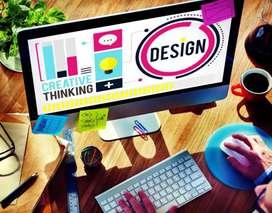 Graphic designer for publication company