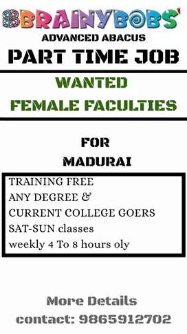 Wanted abacus teacher