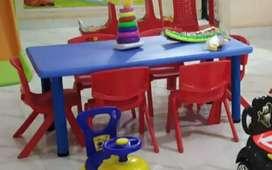 Rectangle shape table for kids