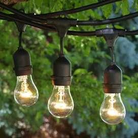 Lampu gantung taman 10m