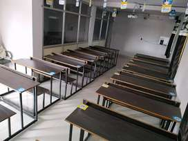 Desk bench for students