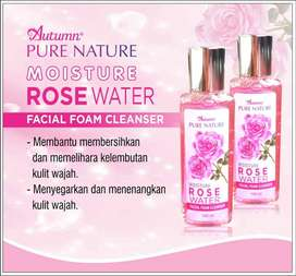 Autumn Rose Water Facial Foam Cleanser 100ml