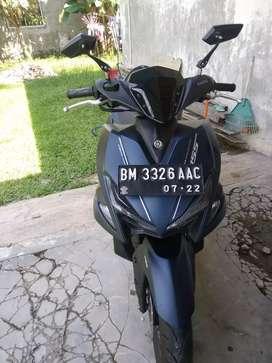 Dijual cepat Yamaha aerox type s km sangat rendah