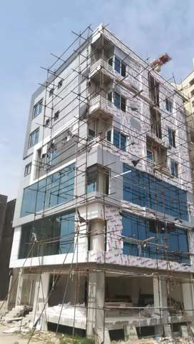 Cladding sheet installation