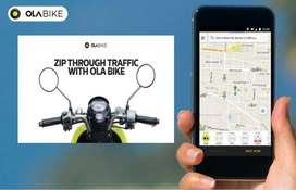 OLA - Wanted Bike Riders for pickup and drop to customer in Bike