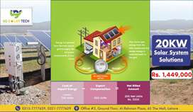 Solar System Solution 20KW in Good Price With Complete Warranty