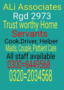 Servants care your all home Ali maids Couple